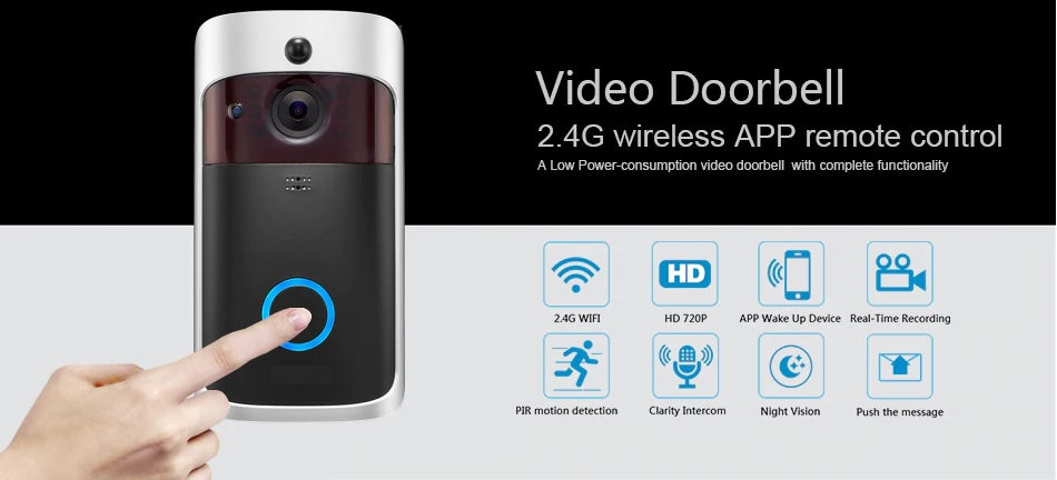 Smart IP Video Intercom WI-FI Video Doorbell