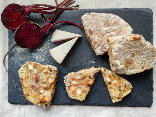 Soda Farls with Killeen and Beetroot