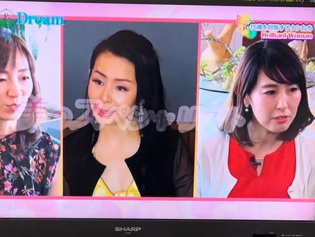サンテレビTV出演  いくつになってもきれいでいる秘訣