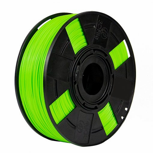 Filamento ABS Premium 3D Fila - Cor Verde-lima-limão  1,75mm