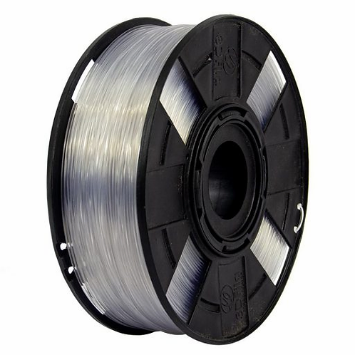 Filamento PETG XT  -  Cor: Glass Colorless . 1,75mm