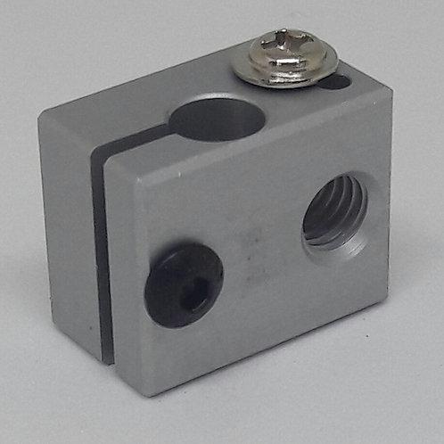 Bloco aquecedor MK8 de alumínio