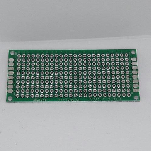 Placa de circuito PY-3cmx7cm