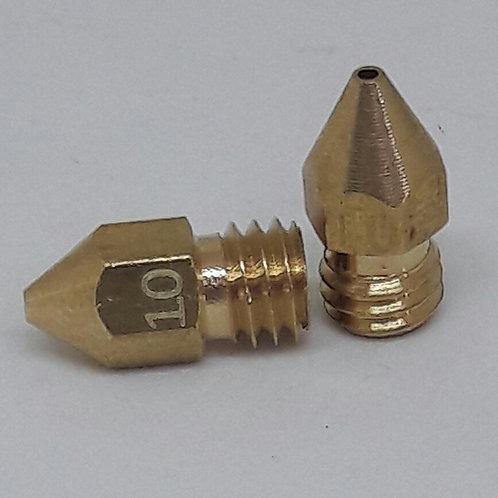 Bico impressora 3D mk8 - 1.0mm - 1.75 (2 un)
