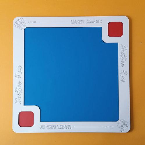Tabuleiro de Dominó 60x60cm Nome personalizado
