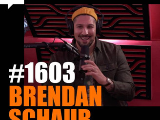Joe Rogan Experience - #1603: Brendan Schaub