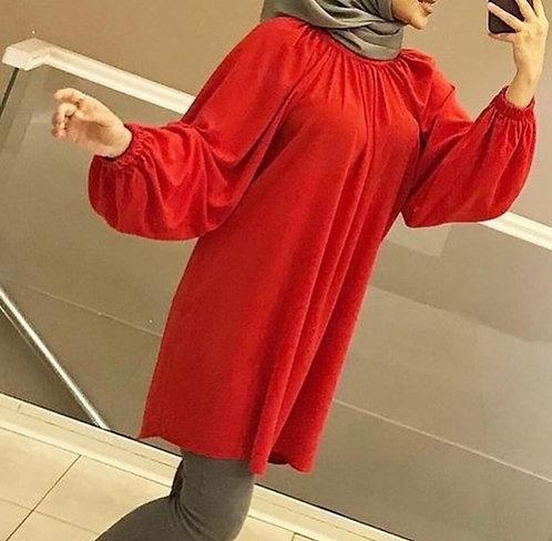 Red Short Shirt