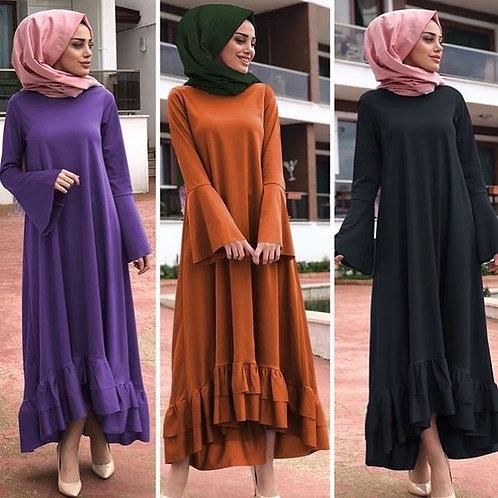 Abaya with Frills