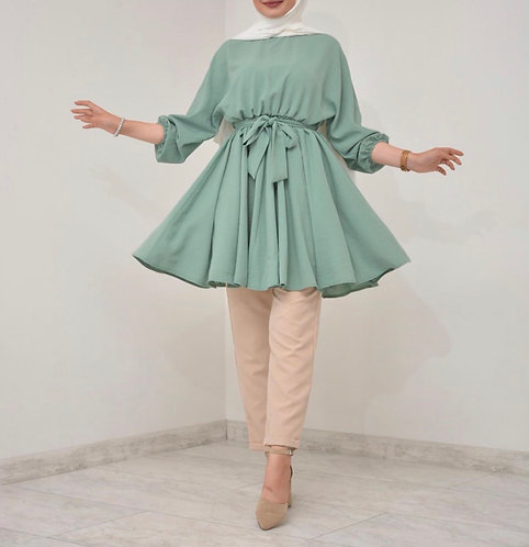 Short Frock with Trousers