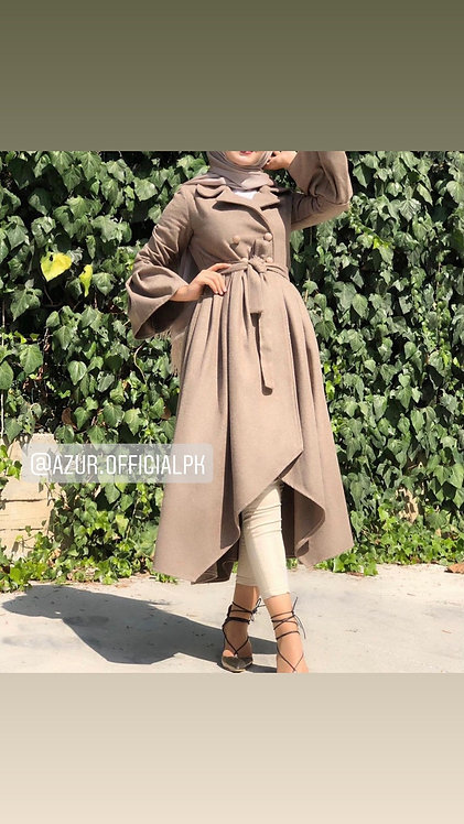 Flairy coat