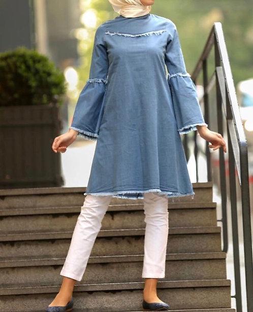 Light Blue Denim Shirt with Trouser