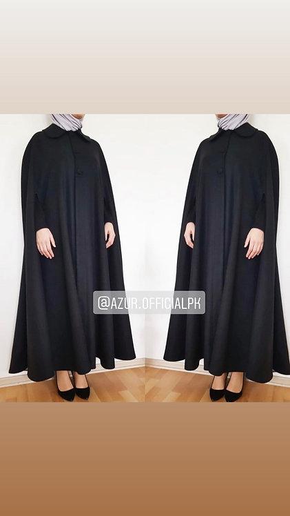 Cape style abaya