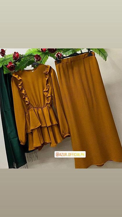 Shirt and skirt