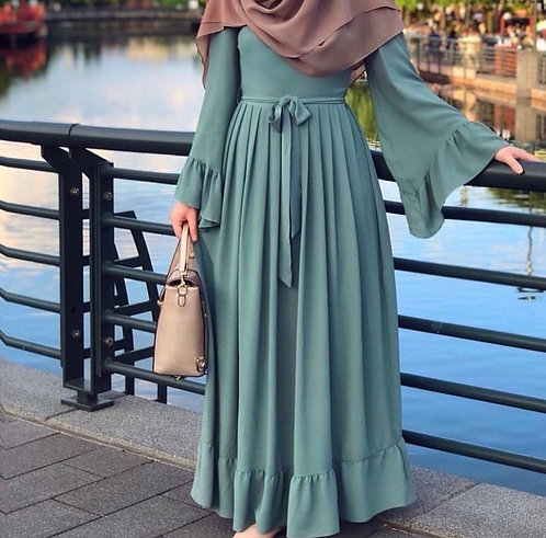 Long Frock with Frills