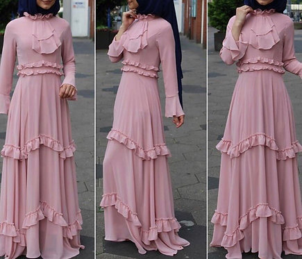 Pink Frock with Frills
