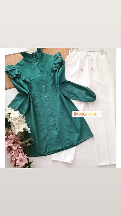 Cotton shirt and trousers