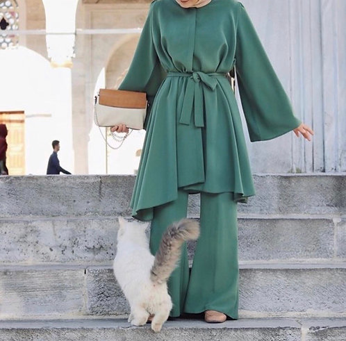 Frock with Bell Bottoms