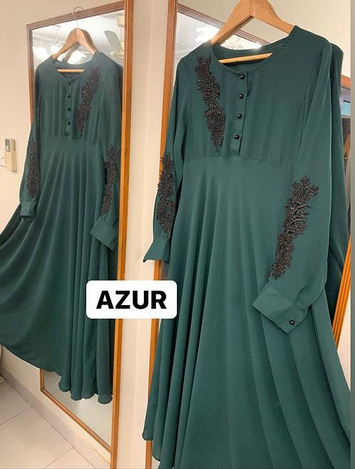 Seagreen Abaya