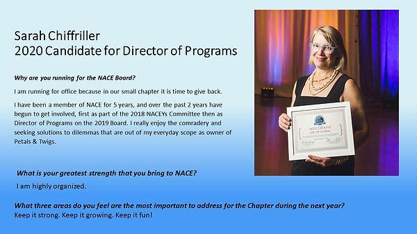 Programs Candidate Sarah Chiffriller.JPG