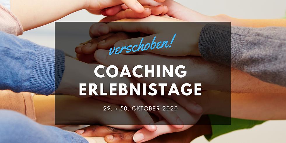 Coaching Erlebnistage - 29./30. Oktober 2020