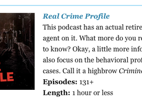 """XG's Real Crime Profile Featured Once Again on a List of """"Great Podcasts"""""""