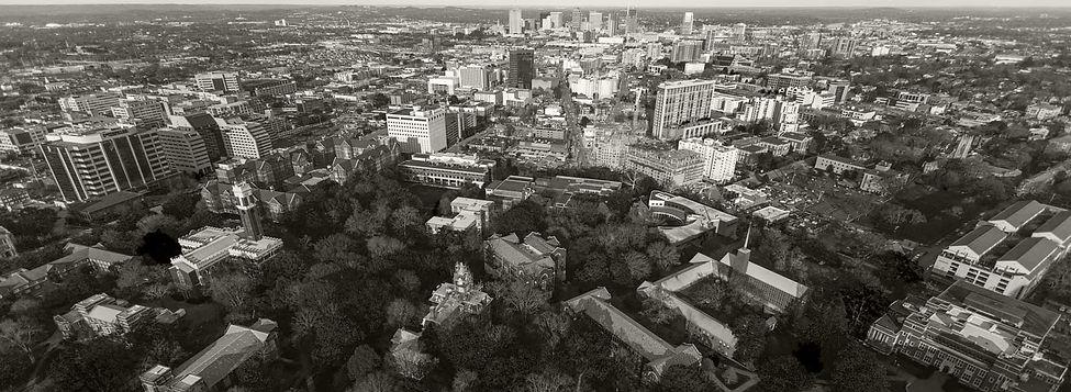 Aerial Shot of Vanderbilt University in Nashville