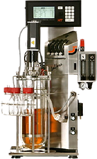 Image of a Infors Labfors HT bioreactor with a 3.6L vessel attached presently stored by Ray Blind Vanderbilt University