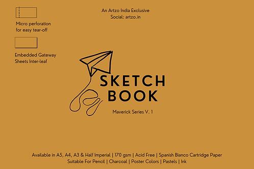 Artloop Maverick Sketchbooks (A5, A4, A3 & A2)