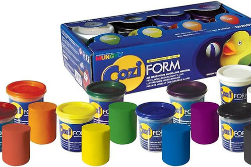 Coziform Air Hardening Clay - Set of 8 Colours