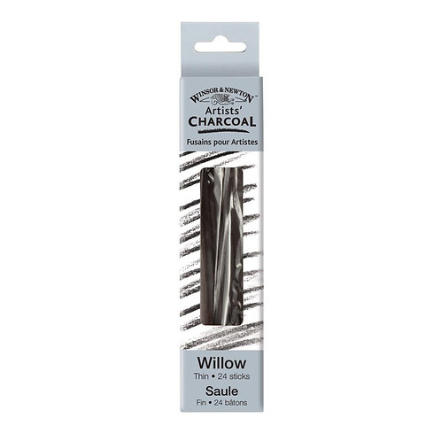 Winsor & Newton Artists' Willow Charcoal - Thin