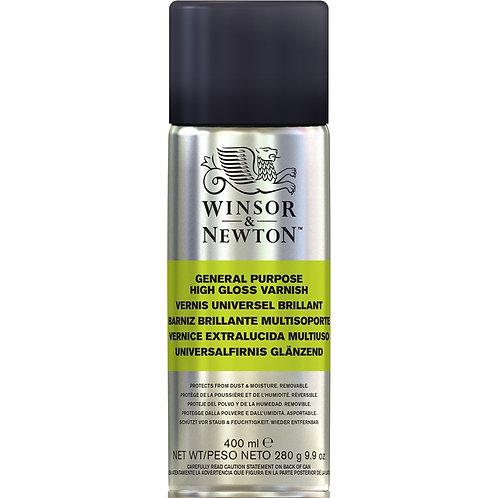Winsor & Newton High Gloss Varnish Spray - 400ml