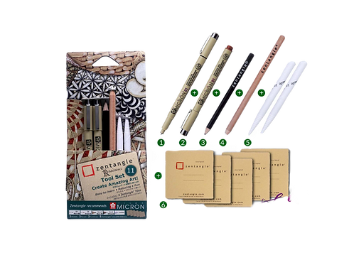 Sakura Zentangle Tool Set 11
