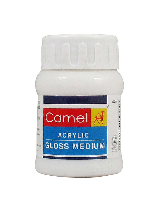 Camel Acrylic Gloss Medium - 100ml