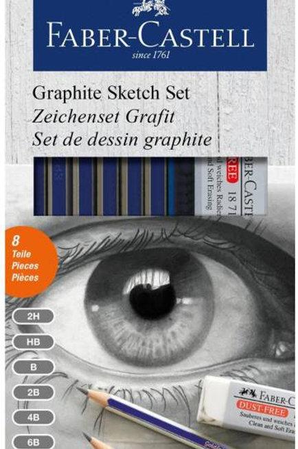FaberCastell Graphite PencilSketch Set