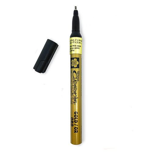 SakuraPen-Touch Calligraphy 1.8mm - Gold