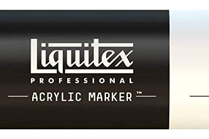 Liquitex 983 Acrylic Paint Marker 15mm Wide - Fluorescent Red