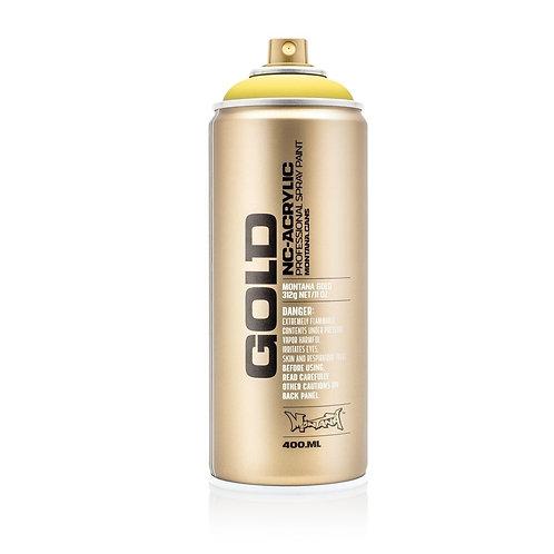 Montana Gold Spray Paint 400ml Easter Yellow - 1010