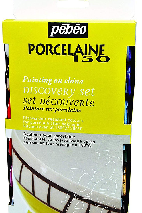 Pebeo Porcelaine 150 Discovery Collection - 12 x 20ml