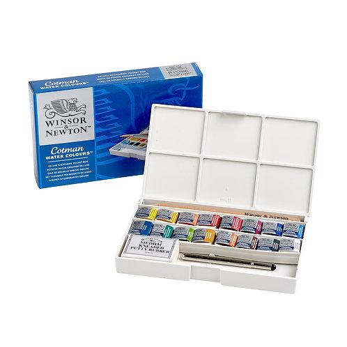 Winsor & Newton Cotman Water Colours Deluxe Sketchers' Pocket Box