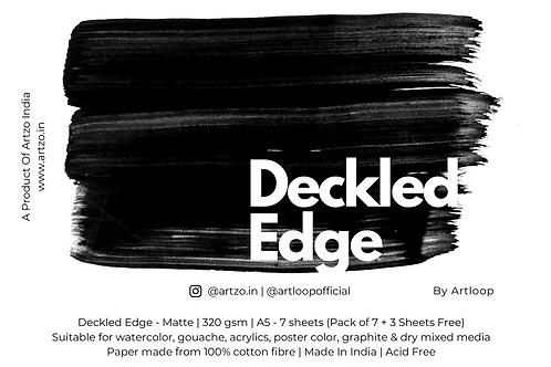Deckled Edges by Artloop A5 - Matte