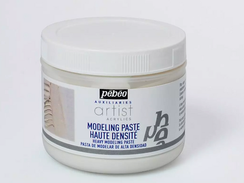 Pebeo Extra Fine Artist Acrylics Auxiliaries - Heavy Modeling Paste - 500ml