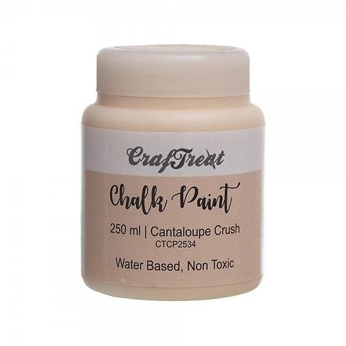CrafTreat Chalk Paint 250ml - Cantaloupe Crush