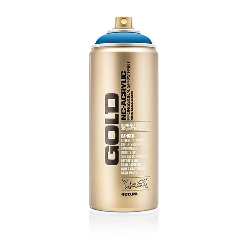 Montana Gold Spray Paint 400ml Blue Magic - G5060