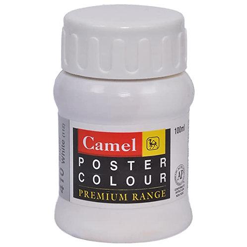 Camel Kokuyo Premium Poster Colour 100ml - Poster Black
