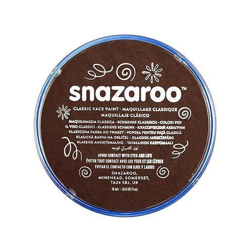 Snazaroo Classic Face Paint 18ml - Light Brown
