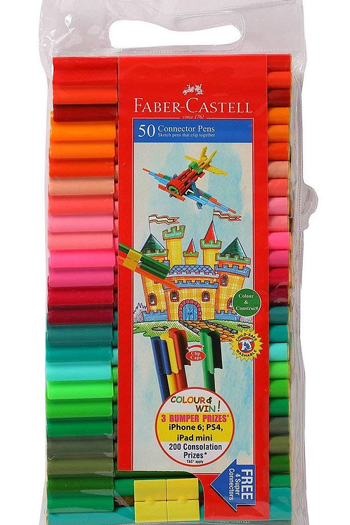 Faber Castell Connector Pens - Pack of 50