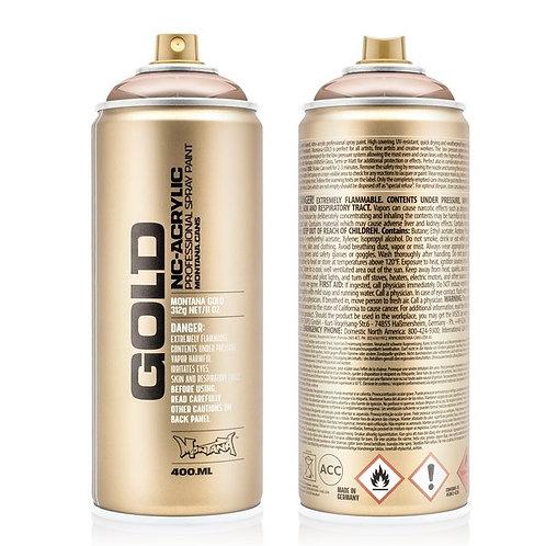 Montana Gold Effect 400ml Spray Paint Chrome Copper - M2000