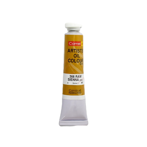 Camlin Kokuyo Artists Oil Colours 20ml - Raw Sienna