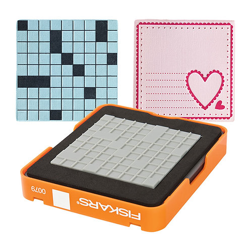 Fiskars Medium Design Set - Thick Material - Square