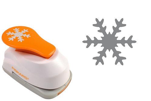 Fiskars Lever Punch Small - Snowflake